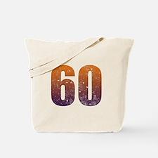 Cool 60th Birthday Tote Bag