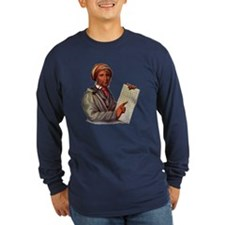 Sequoyah, The Cherokee Scholar Long Sleeve T-Shirt