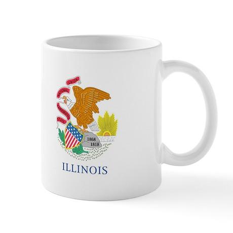 Illinois Flag Mug