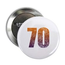 "Cool 70th Birthday 2.25"" Button"