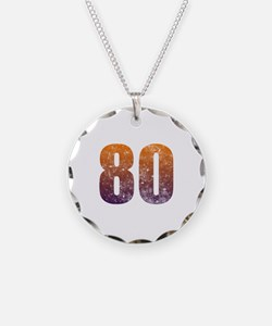 Cool 80th Birthday Necklace