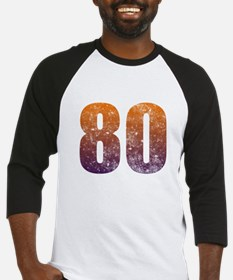 Cool 80th Birthday Baseball Jersey