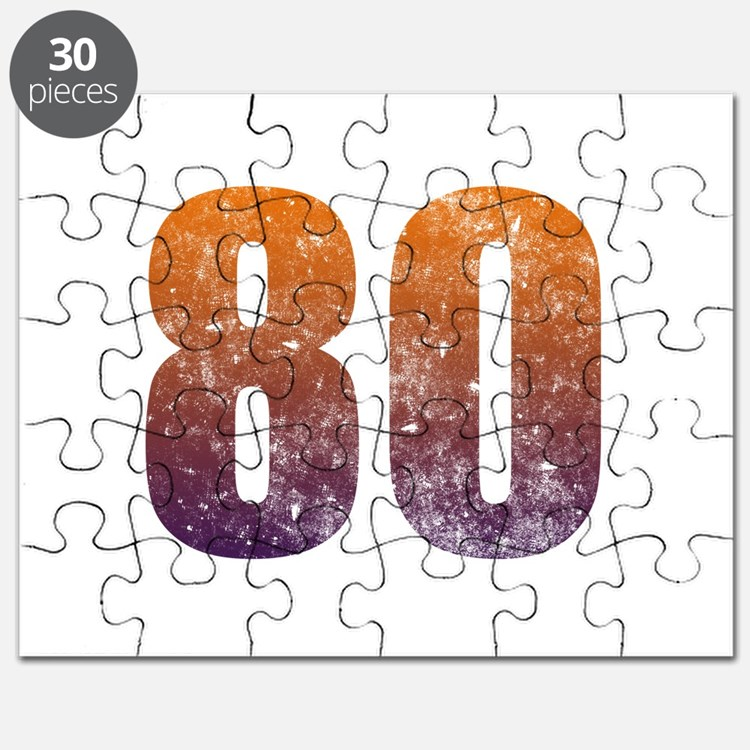 Cool 80th Birthday Puzzle