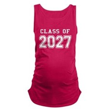 Class of 2027 (White) Maternity Tank Top