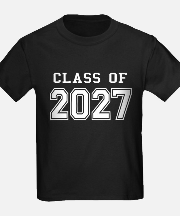 Class of 2027 (White) T