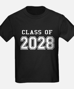 Class of 2028 (White) T