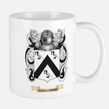 Guillermo Coat of Arms (Family Crest) Small Small Mug