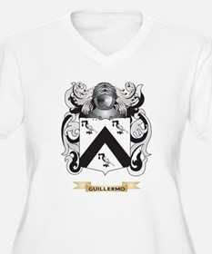 Guillermo Coat of Arms (Family Crest) Plus Size T-