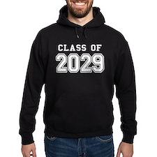 Class of 2029 (White) Hoodie