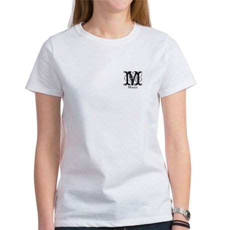 Monica: Fancy Monogram Women's T-Shirt
