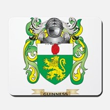 Guinness Coat of Arms (Family Crest) Mousepad