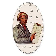 Sequoyah, The Cherokee Scholar Decal