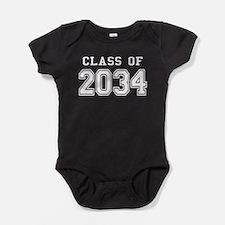 Class of 2034 (White) Baby Bodysuit