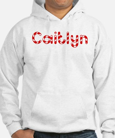 Caitlyn - Candy Cane Jumper Hoody