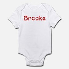 Brooke - Candy Cane Infant Bodysuit