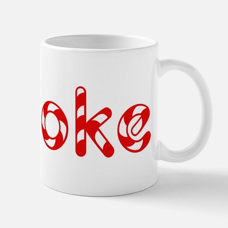 Brooke - Candy Cane Mug