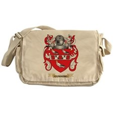 Gunning Coat of Arms (Family Crest) Messenger Bag