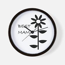 BEST MAMA Wall Clock
