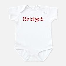 Bridget - Candy Cane Infant Bodysuit