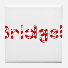 Bridget - Candy Cane Tile Coaster