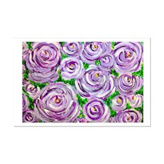 Sparkling Lavender Roses Posters