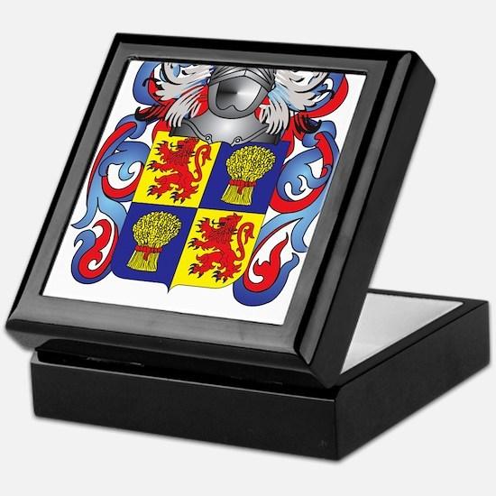 Guthrie Coat of Arms (Family Crest) Keepsake Box