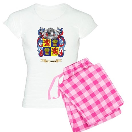 Guthrie Coat of Arms (Family Crest) Pajamas