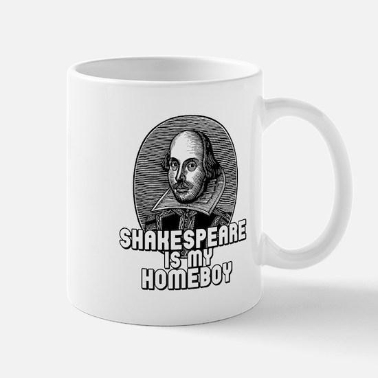 Shakespeare is my Homeboy Mug