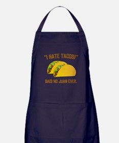 I Hate Tacos Apron (dark)