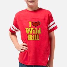 wildbill1 Youth Football Shirt