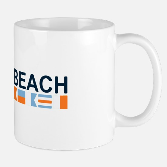 South Beach - Nautical Flags. Mug
