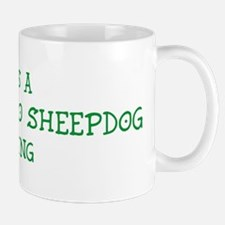 Bergamasco Sheepdog thing Small Small Mug