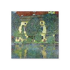 """Schloss Kammer By Gustav Kl Square Sticker 3"""" x 3"""""""