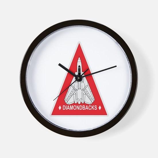 VF-102 DIAMONDBACKS Wall Clock