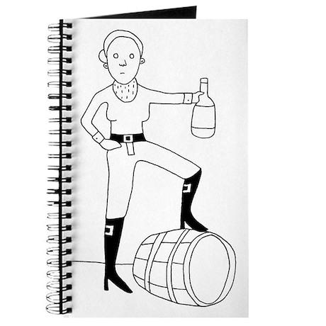 Female Rum Pirate Journal