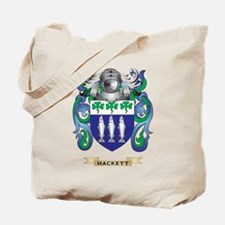 Hackett Coat of Arms (Family Crest) Tote Bag