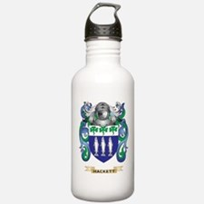 Hackett Coat of Arms (Family Crest) Water Bottle