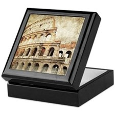Vintage Roman Coloseum Keepsake Box