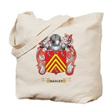 Hadley Coat of Arms (Family Crest) Tote Bag