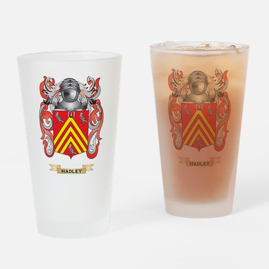 Hadley Coat of Arms (Family Crest) Drinking Glass