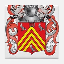 Hadley Coat of Arms (Family Crest) Tile Coaster
