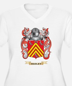 Hadley Coat of Arms (Family Crest) Plus Size T-Shi