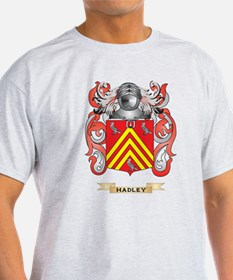 Hadley Coat of Arms (Family Crest) T-Shirt