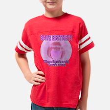 savebritneypinktrans Youth Football Shirt