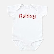 Ashley - Candy Cane Infant Bodysuit