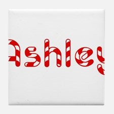 Ashley - Candy Cane Tile Coaster