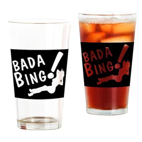 BADA BING Drinking Glass