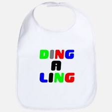 DING A LING! Baby Bib