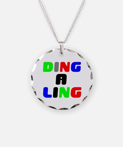 DING A LING! Necklace Circle Charm