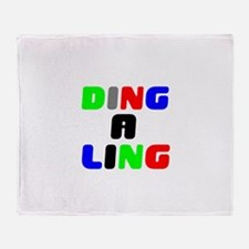DING A LING! Throw Blanket